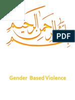 GENDER BASED VIOLENCE.ppt
