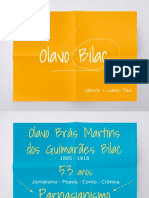 Olavo Bilac  - Dos Meus Pecados