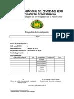 UNCP-IGI-PI-006.01 Formato de Plan de Investigación