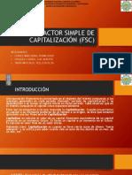 factor simple de capitalizacion