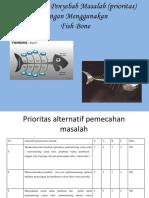 Diagram Analisa Penyebab (Fish Bone) 3 Masalah