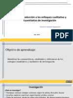 Enfoques de Investigación Cualitativa y Cuantitativa