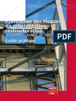 O Prevention Risques Rehabilitation Restructuration Sommaire