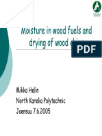 Drying of Woodchips