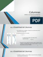 UNIDAD 10. Columnas