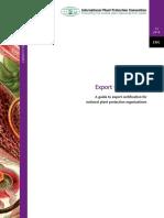 IPPC - Export Certification