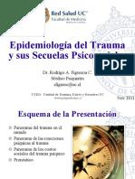 Epidemiología Del Trauma y Sus Secuelas Psicosociales