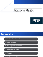 Application Du Mastic