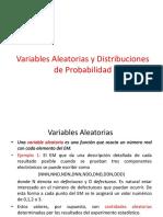 variable aleatorias