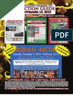 Nov 15th 2010 Auction Guide