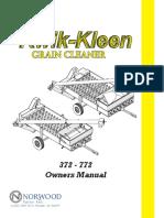 372-772 - Kwik Kleen Owners Manual