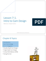 Ch8 Lecture 1 Intro to Cam Design