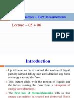 Lecture- 5 Fluid Dynamics