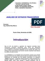 Analisis Estados Financieros Presentacion Powerpoint