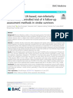 A multi-centre, UK-based, non-inferiority randomised controlled trial of 4 follow-up assessment methods in stroke survivors
