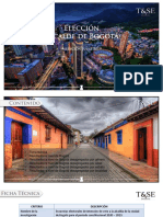 Encuesta T&SE Alcaldía de Bogotá - Julio