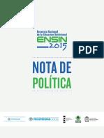 Encuesta Nacional de la Situación Nutricional - ENSIN 2015.pdf