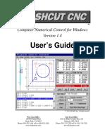 FlashCut CNC 1.4 Users Guide