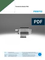 FESTO - Electroválvulas VUVG  Terminal de válvulas VTUG - VTUG-G_ES.PDF