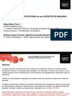 Apresentação 14 Construmetal2014 Rafael Ferro Analise Dinamica de Estruturas de Aço