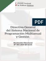 11 Directiva General