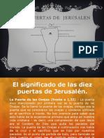 10 Puertas de Jerusalen