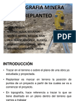 Topografia Minera Replanteo (1)