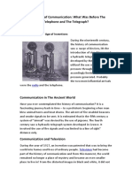 The History of Communication.docx