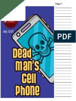 Dead Man's Cell Phone Script