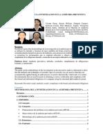 Metodología de La Inves. Cient en La Auditoria Integral GRUPAL