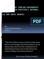 Lec 10 An Analysis of Foreign Governments Involvement in Pakistan_s.ppt