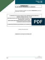 Edital P 2.0062 Comunicado