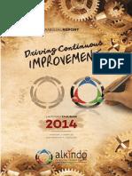 ALDO Annual Report 2014