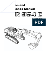 Liebherr r 954 c Litronic Operation and Maintenance Manual