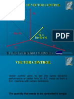 Theory of Vector Control