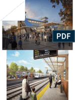 LIRR Station Elmont Renderings