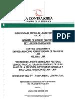 Informe de Contraloría Puente Leoncio Prado