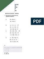Taller de Algebra Lineal SEMANA 7