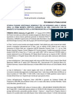 8-7-2019 ITALIAN PRESS RELEASE - HISTORIC GENERAL MANAGEMENT MERGER BETWEEN UN SWISSINDO (UNS) AND DIRUNA (DRA)