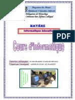 Informatique éducative