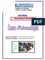 Informatique éducative