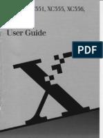 Xerox 366 Copier Manual