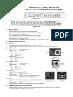 UX8800 QuickStart LoudspeakerMode GUIDE RevA00