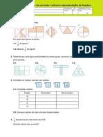 A fração como parte de um todo. Leitura e representação de fraçoes..pdf