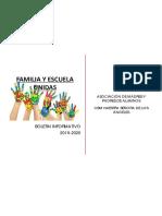 Boletin Informativo Ampa 2019-2020