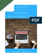 Guide Devenez Rédacteur Web