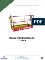 modelo Manual Andamio Colgante
