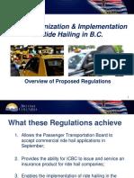 Ride-hailing regulation overview