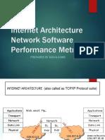 Internet Architecture and Performance Metrics