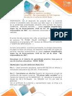 ENUNCIADO TALLER No. 1 Régimen Simplificado (1)